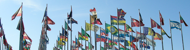 International Flags Leipzig