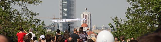 looking downtown Leipzig