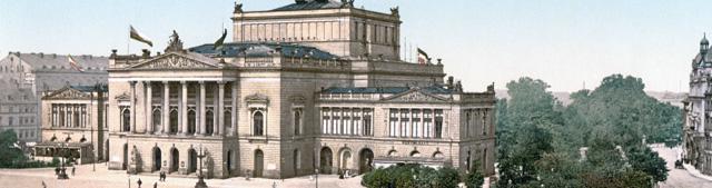 Neues Theater Leipzig Augustusplatz