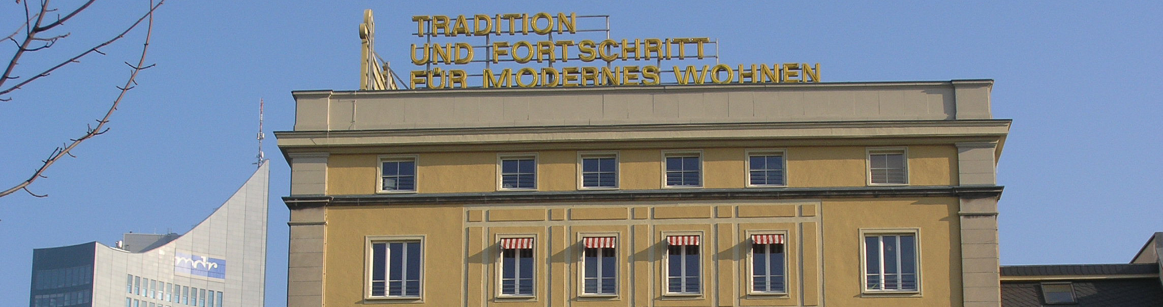 Tradition und Fortschritt - Architekturmix in Leipzig